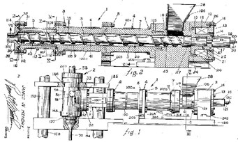Vijak, ki ga je izumil James Hendry